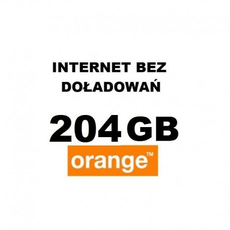 Internet orange free 102 GB- LTE-ROK +BEZTERMINOWO