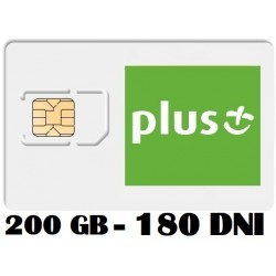 PLUS INTERNET LTE 200 GB 180 dni