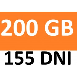 Internet orange free 200 GB- LTE- 155 DNI