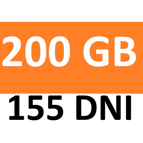 Internet orange free 102 GB- LTE-ROK +BEZTERMINOWO