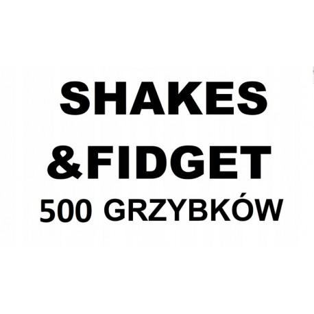 SHAKES&FIDGET 500 Grzybków