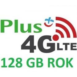 PLUS INTERNET NA KARTĘ iPLUS 128 GB 3G/LTE FV ROK