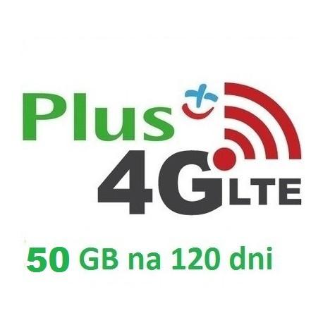 PLUS INTERNET LTE 50 GB 120 dni